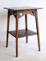 Elegant Edwardian Antique Arts & Crafts Side Table